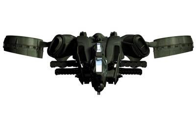 C-22 Viper Attackship - WIP 8