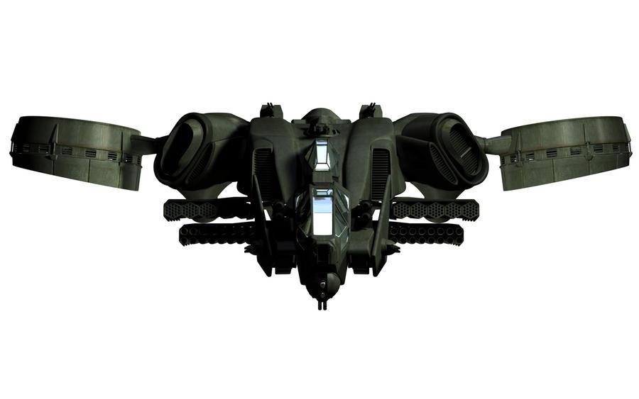 C-22 Viper Attackship - WIP 8 by MandesDesign