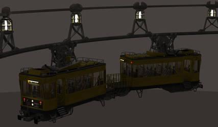 Toha Hi Station WIP - Train by MandesDesign