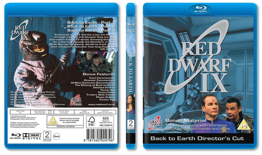 WANTED: Back to Earth DVD cover | Red Dwarf Forum