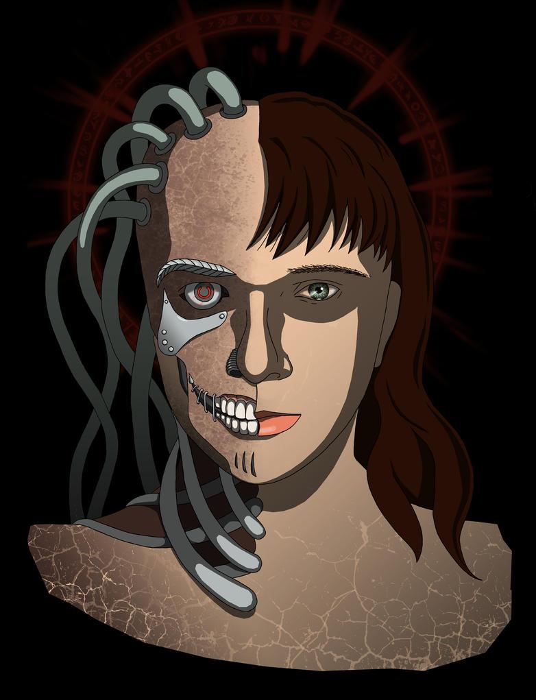 Me-cyborg by Psee