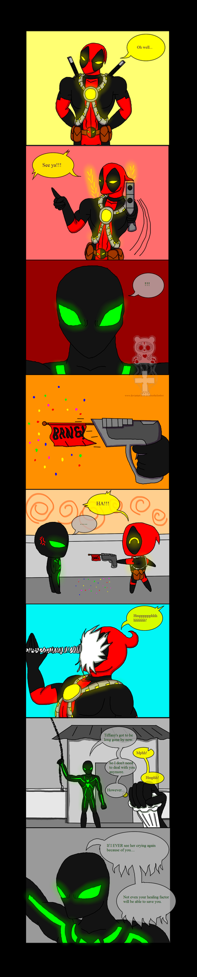 My Husband Deadpool Page 12 by DominotheFembot