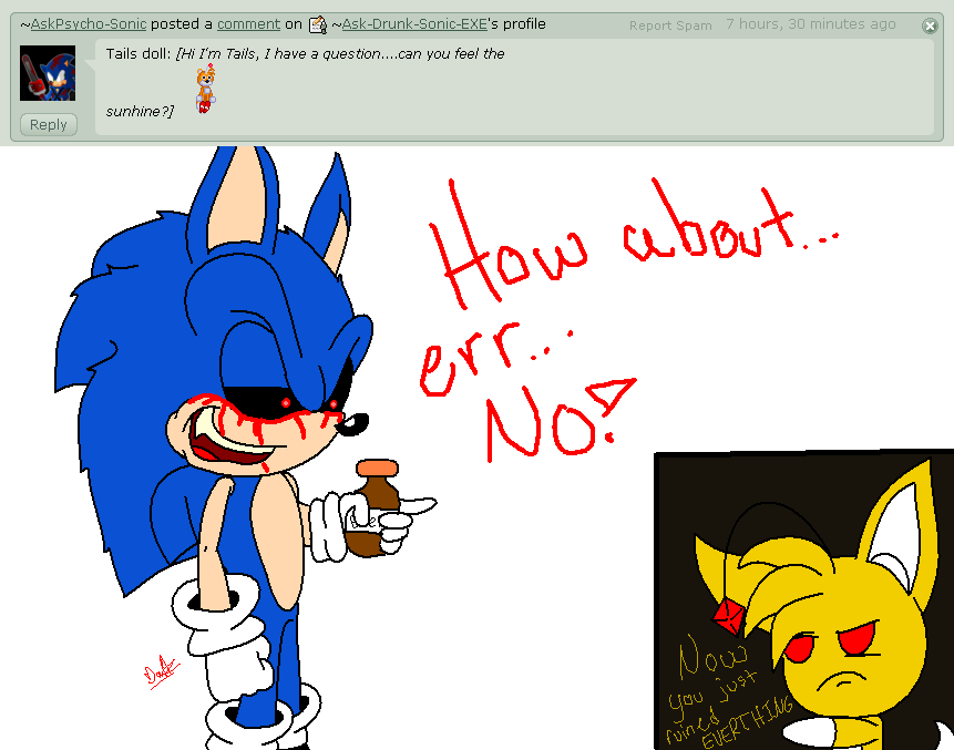 Drunk Sonic EXE question 7 by Ask-Drunk-Sonic-EXE