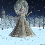 The Snow Princess for Pam by merrygrannyde