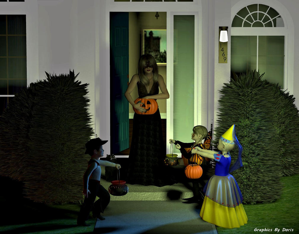 More Trick Or Treating by merrygrannyde