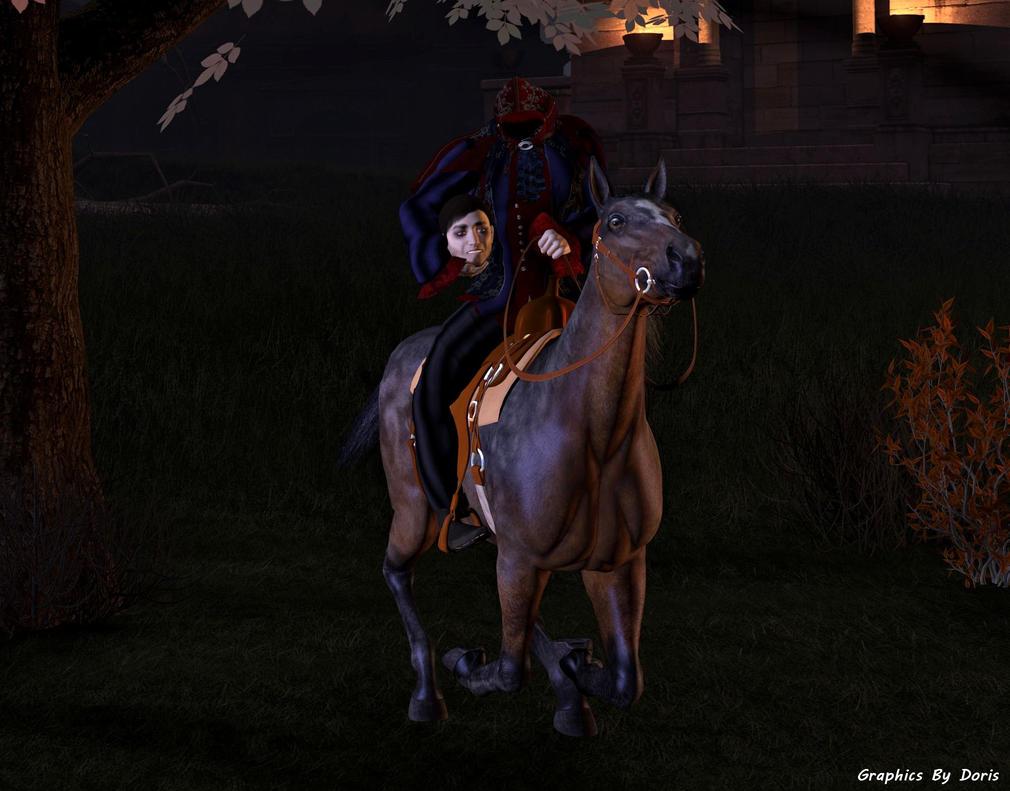 Headless Horseman Rides Again by merrygrannyde