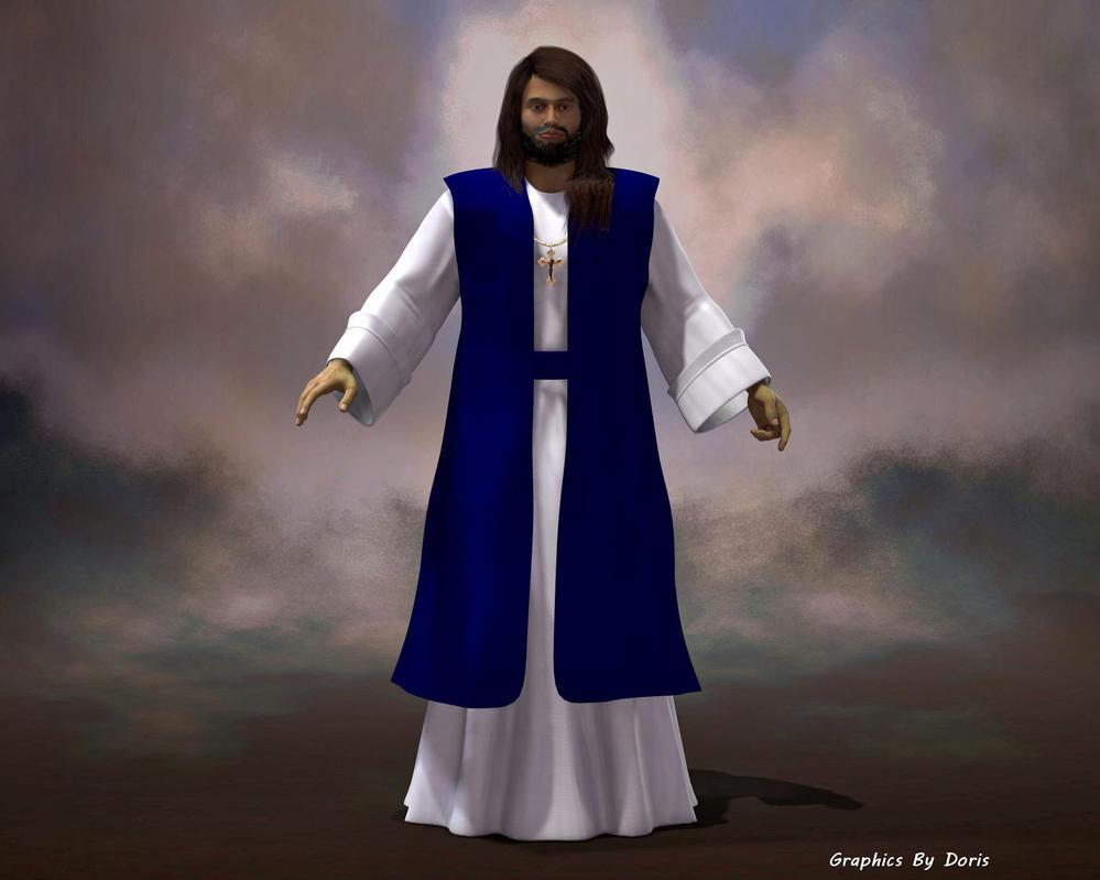 Jesus Full by merrygrannyde