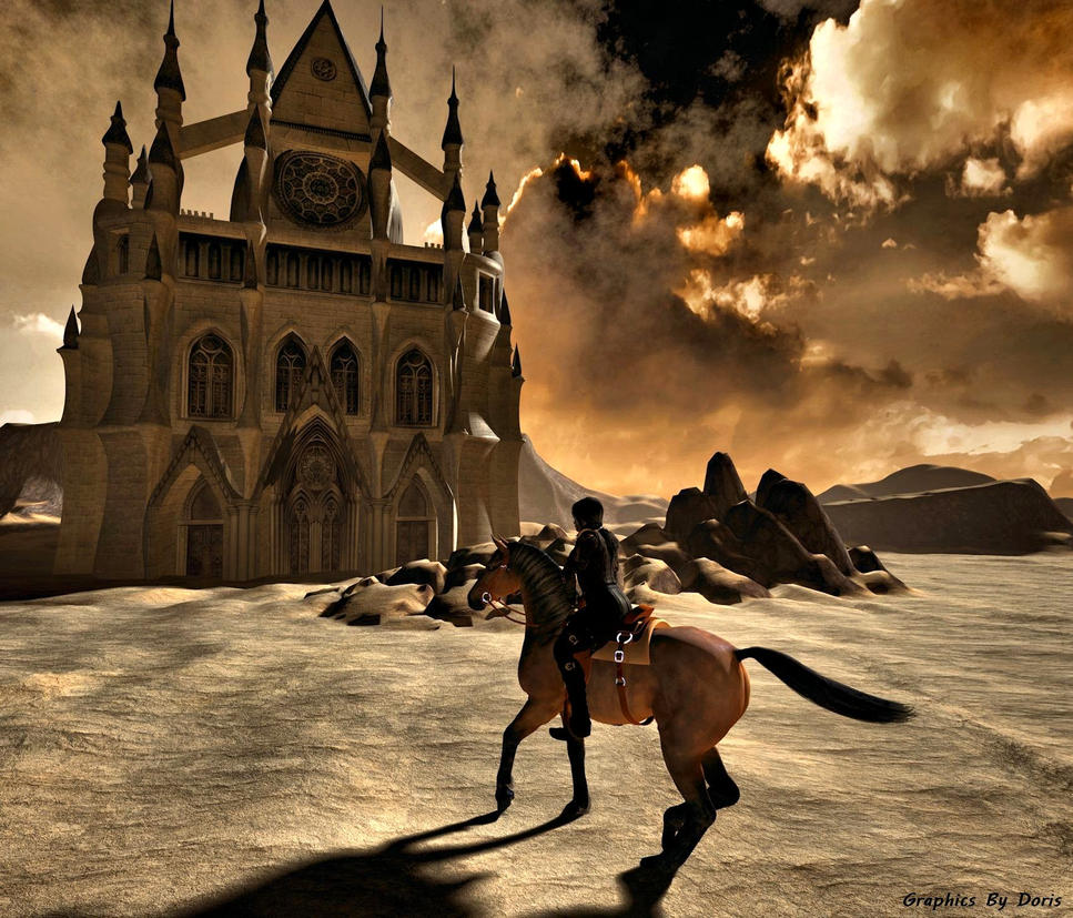 Lost Desert Kingdom by merrygrannyde