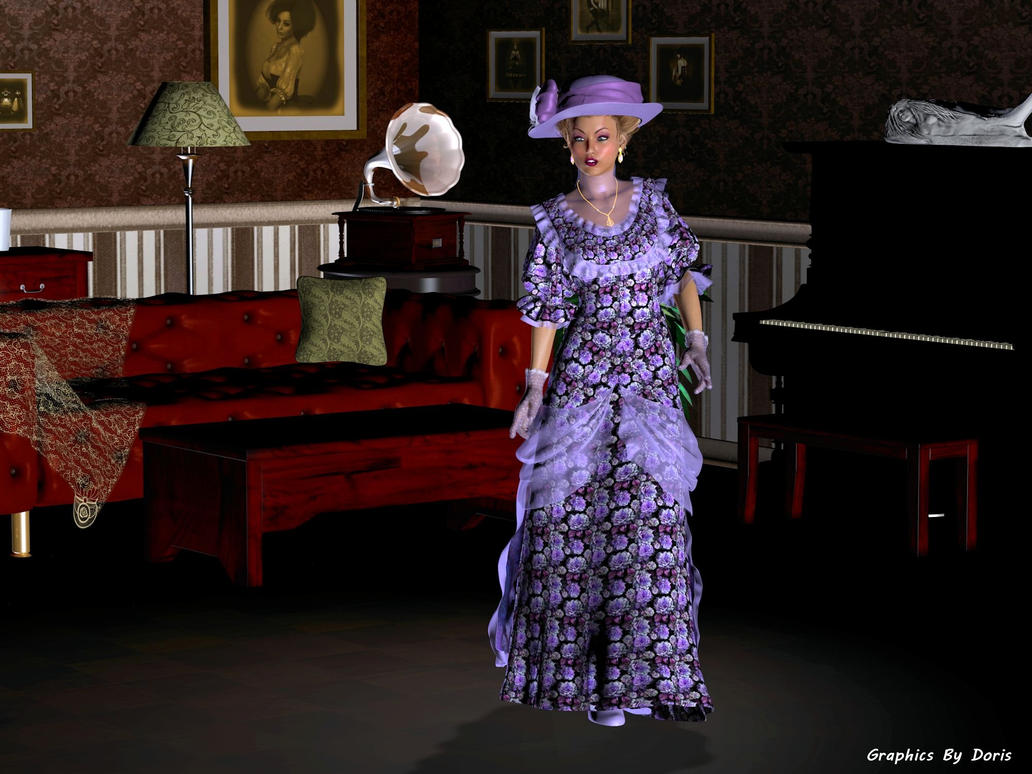 Vintage Spring Fashion by merrygrannyde