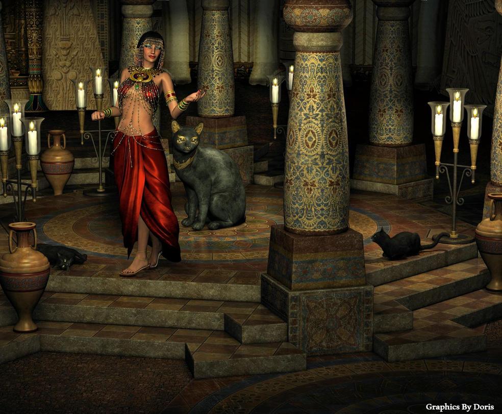 Temple Of Bast by merrygrannyde