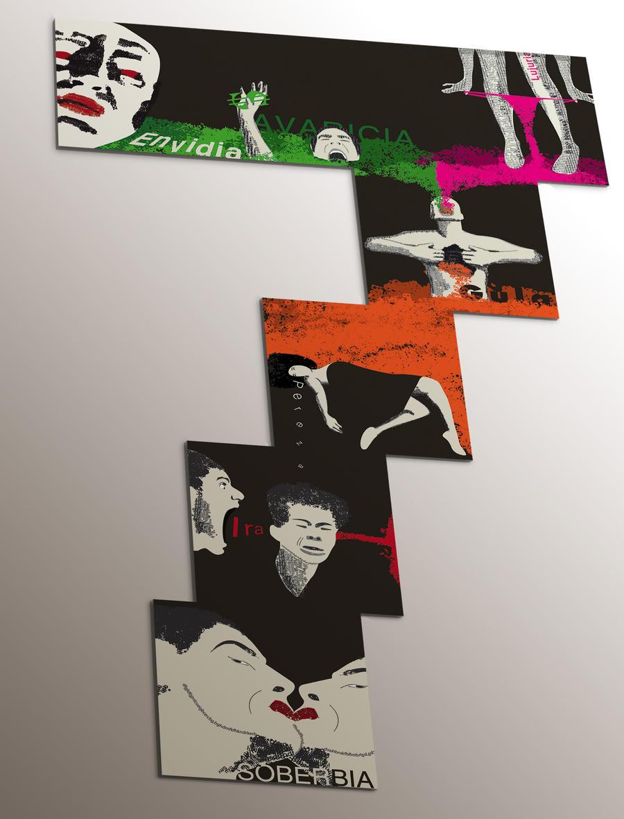 Los 7 pecados tipograficos by zurdodrumman
