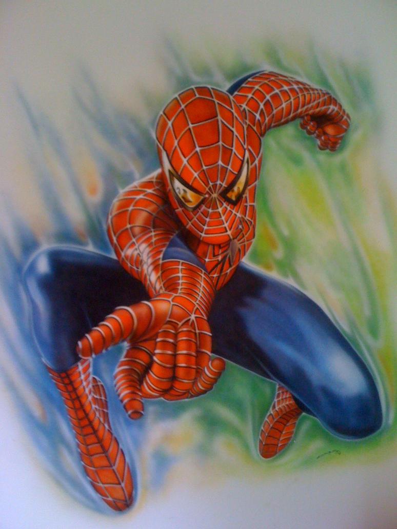 Spiderman mural by linkerart on deviantart - Poster mural spiderman ...