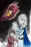 The Hobbit and the Snow Queen, The Cover Art