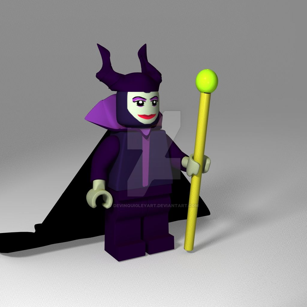 Lego Maleficent Minifigure Related Keyword...