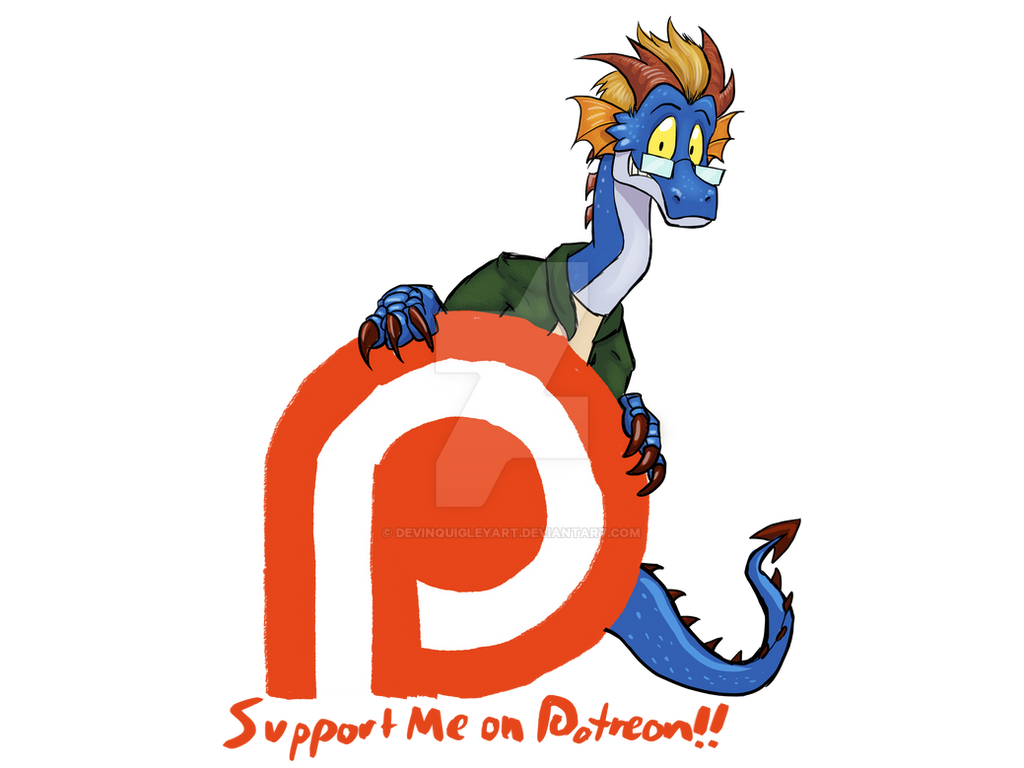 I'm on Patreon!