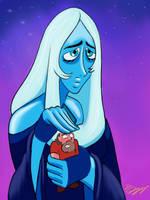 Blue Diamond's Prize by DevinQuigleyArt