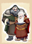 Balin and Dwalin, Sons of Fundin