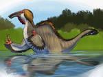 Dinovember 2017 Day 3, Deinocheirus