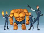 Fantastic Four 2018 by DevinQuigleyArt