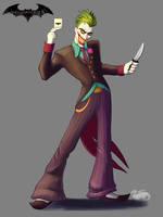 Joker 2018 by DevinQuigleyArt