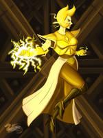Yellow Diamond Strikes  by DevinQuigleyArt