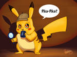 Detective Pikachu on the Case!