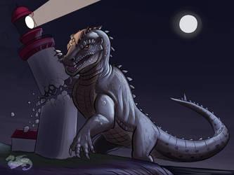 Kaijune 2019, The Beast from 20,000 Fathoms  by DevinQuigleyArt