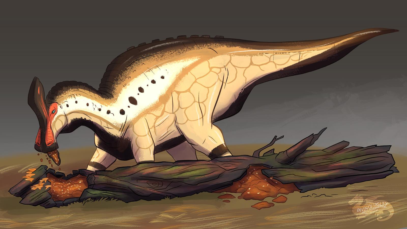 Dinovember 2020, Tsintaosaurus