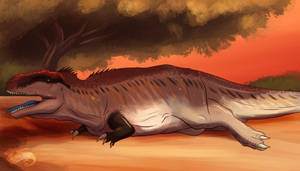 Dinovember 2020, Carcharodontosaurus