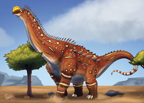 Dinovember 2020, Alamosaurus