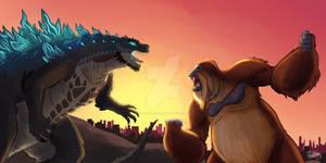 Gojira Vs Kong 2021