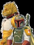 Star Wars April, Boba Fett And Bossk