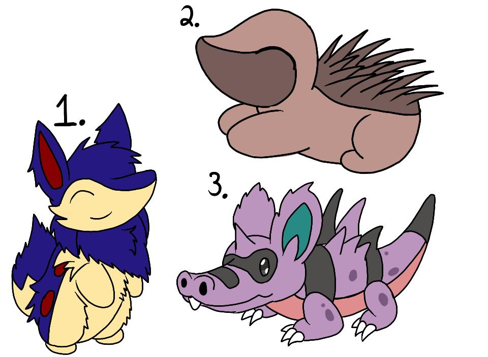 Pokemon Reign Litter: Agnesi 3 by bdg222