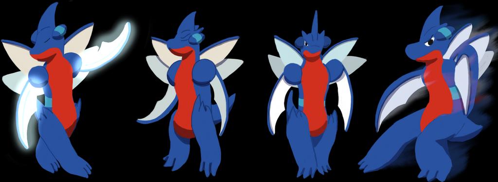 Pokemon Reign: Hourai Art by bdg222