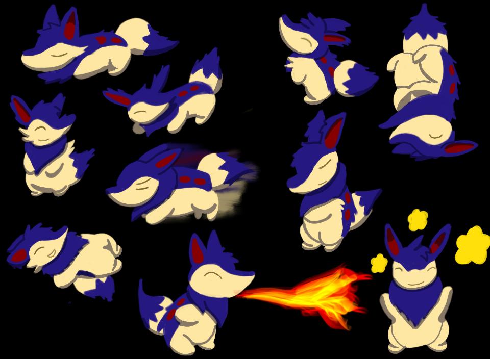 Pokemon Reign: Ramsey Art by bdg222