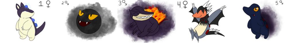 Pokemon Realms Litter: Agnesi 14 by bdg222