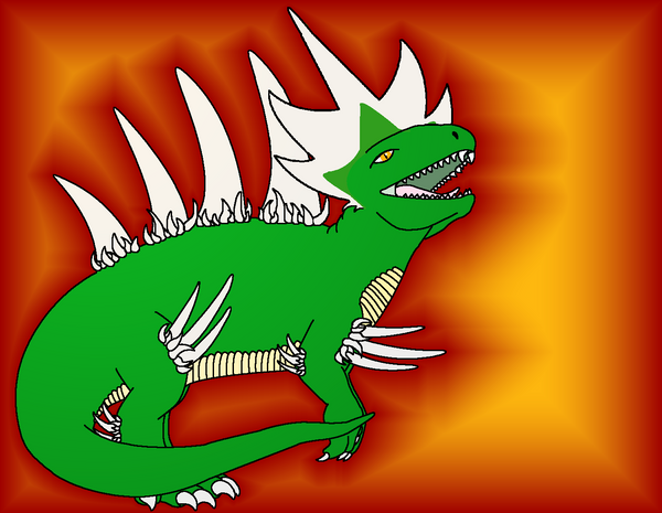Salamander for Havoc892 by SillyMigol