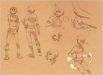kuri_sketches by Kurunya