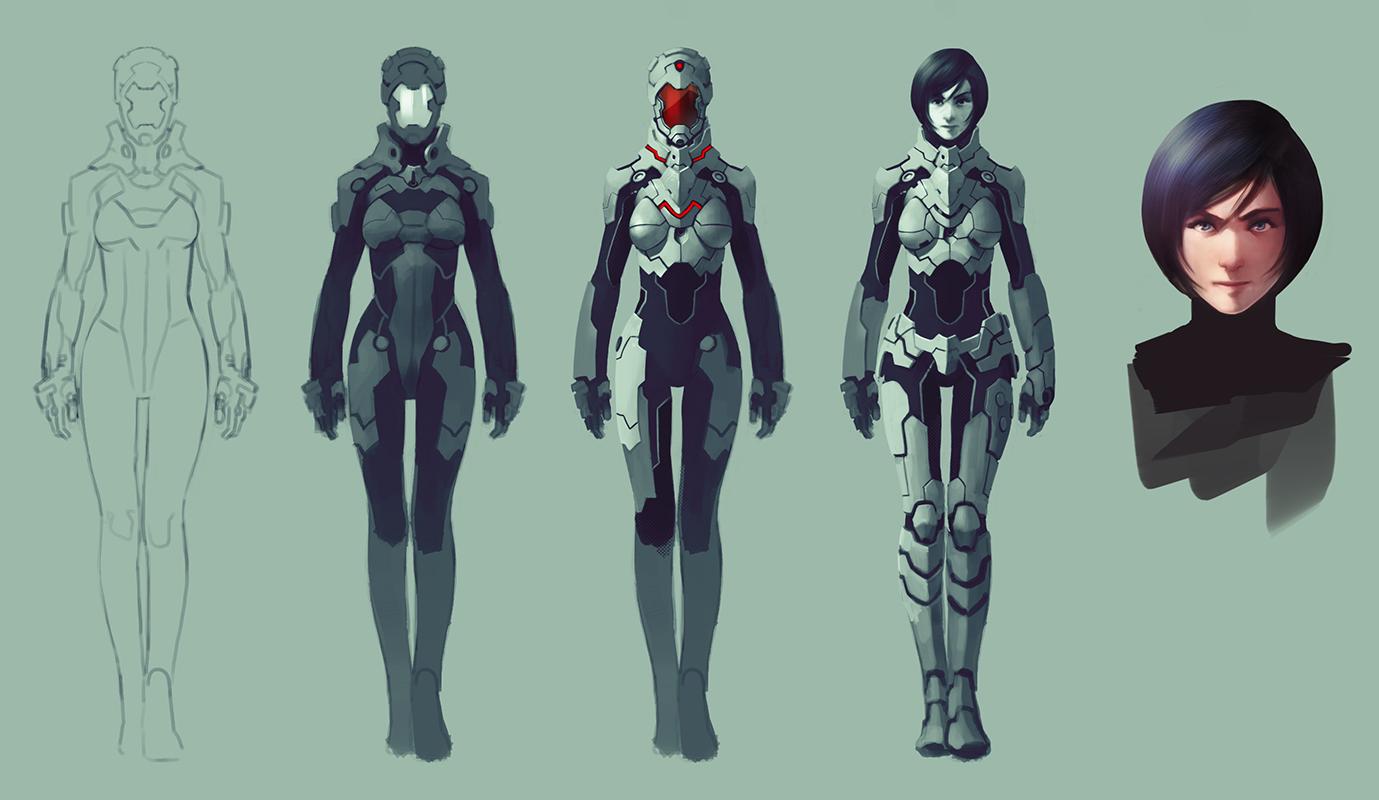 Battle suit for fun by Kurunya