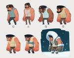 Eskimo character concept