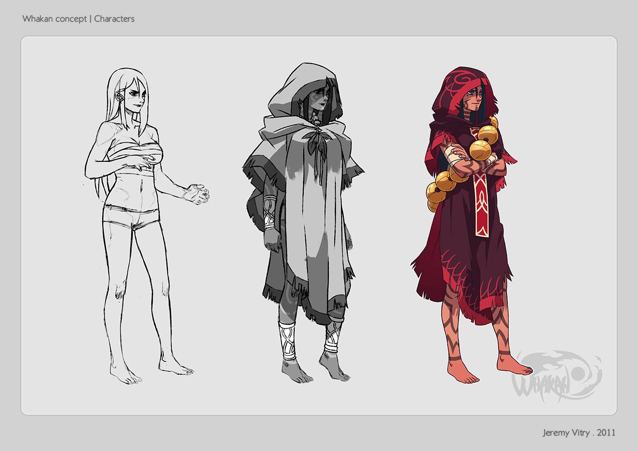 Whakan - Characters 01 by Kurunya