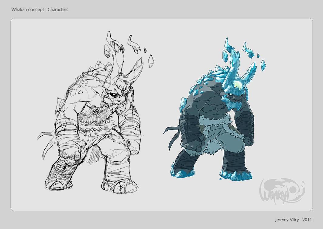 Whakan - Characters 02 by Kurunya
