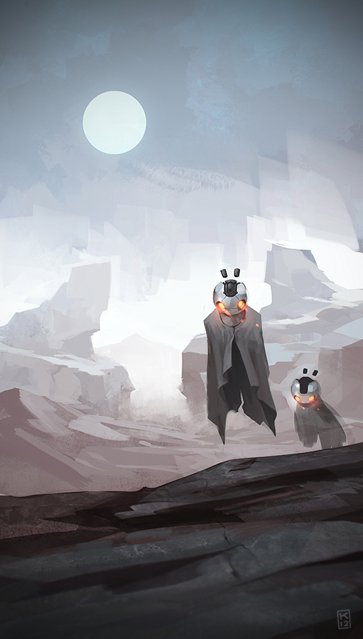 desert ghosts by Kurunya