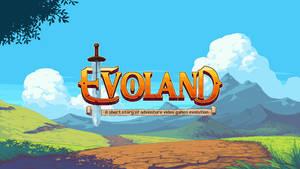 Evoland Titlescreen