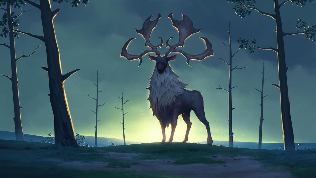 Eikthyrnir, Clan of the Stag - NORTHGARD by Kurunya on DeviantArt