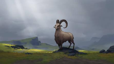 Heidrun, Clan of the Goat - NORTHGARD by Kurunya
