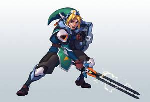 CDChallenge Legend of Zelda - Link