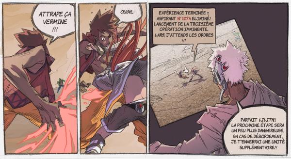 comic strip collab by Kurunya