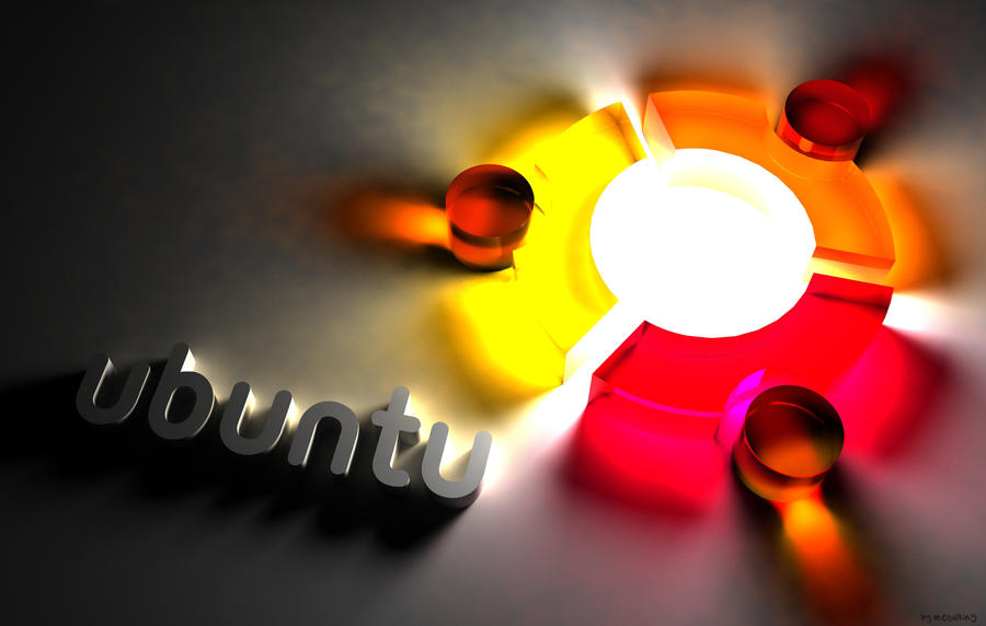 Ubuntu Wallpaper by metalking