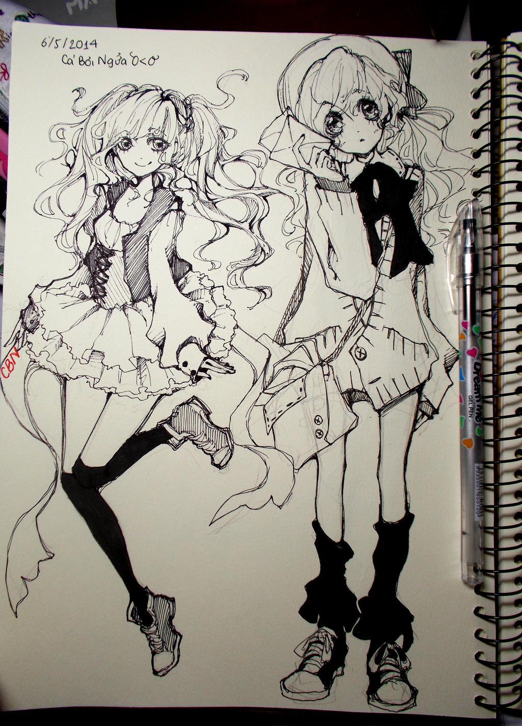 random sketch by Shisa76